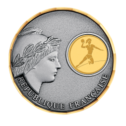 MEDAILLE LAITON MARIANNE  70mm